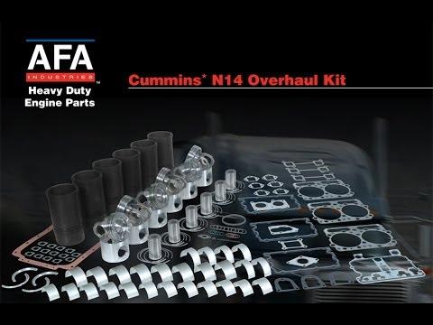 Cummins N14 E Celect Plus Engine In Frame Overhaul