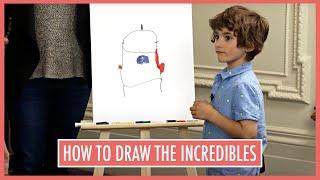 An Incredibles 2 Drawing Masterclass with Oscar Winner Brad Bird