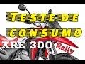 Teste de Consumo de Combust�vel - XRE 300 Rally C/ ABS