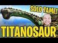 Ark: Ragnarok! - I TAMED A TITANOSAUR!! [#26] |Ragnarok Gameplay|