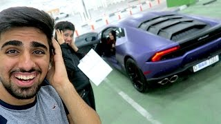 Lamborghini Revving is CRAZY !!!