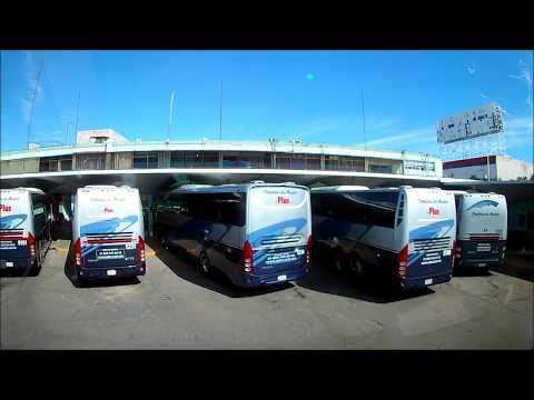 Llegando a la Central de Autobuses de Aguascalientes Ags en ETN Doble Piso