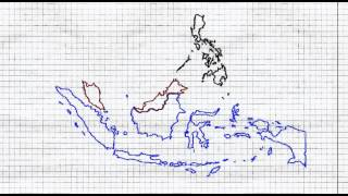 gfx map malaysia philippines indonesia