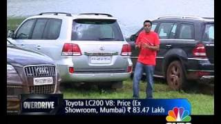 Merc GL vs Audi Q7 vs Toyota Land Cruiser on OVERDRIVE