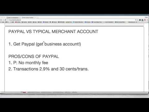 Volusion Training #9: The Basics of Payment Processing