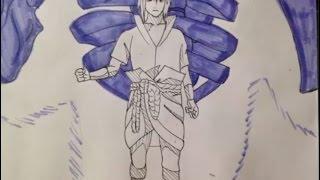 Drawing Sasuke Uchiha Susanoo