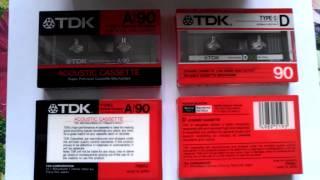 Автоматические кассеты для магнитофона новые 1986 год выпуска 自動...