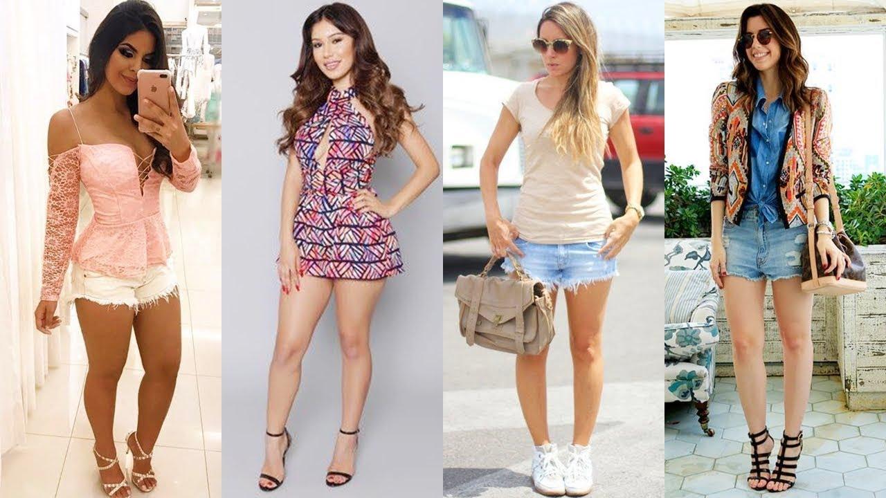 Outfit Con Short De Vestir Para Toda Ocasión Hermosos Conjuntos De Dos Piezas