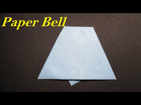 Origami BellHow To Make An Easy Origami BellYouTube