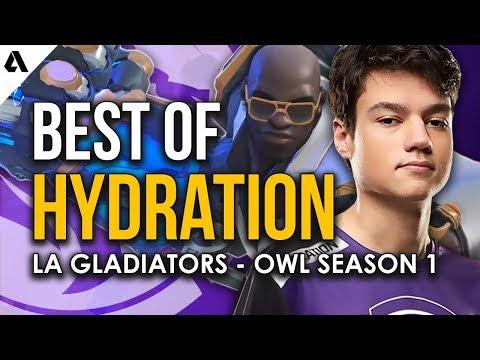 Best Plays of LA Gladiators Hydration | Overwatch League Season 1 thumbnail