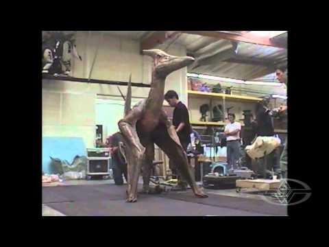 JURASSIC PARK III - Pteranodon Test - BEHIND-THE-SCENES