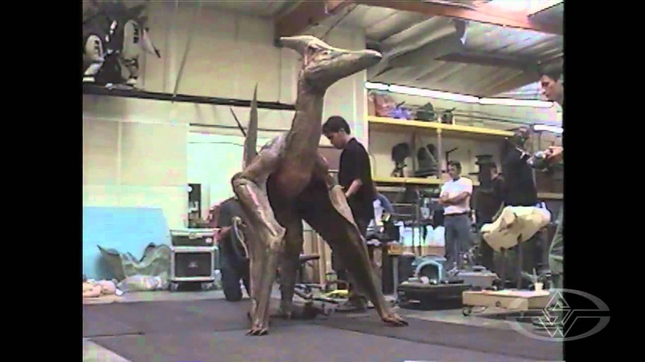 jurassic park iii pteranodon test behindthescenes