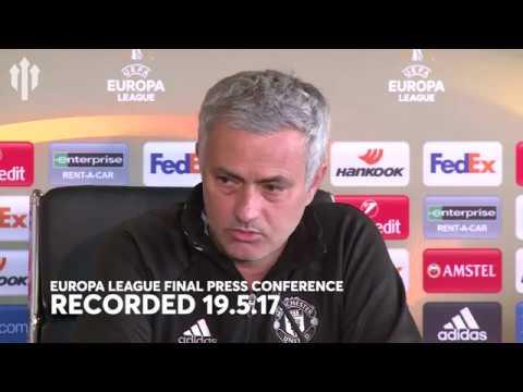 Jose Mourinho Press Conference | Ajax vs Manchester United Europa League Final