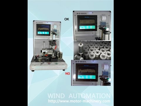 Aluminum die casting rotor testing equipment WIND-RT-1 Shanghai Wind Automation