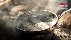 Heirol Steelsafe - kuumaan ja kovaan paistamiseen suunniteltu paistinpannu. Ihan täydellinen!