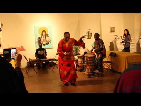 Diamano Coura - West African Dance Company - Betti Ono Gallery - Oakland, CA