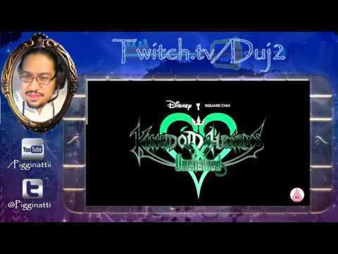 Kingdom Hearts Unchained X - LIVE Download And Install And PLAYTHRU!