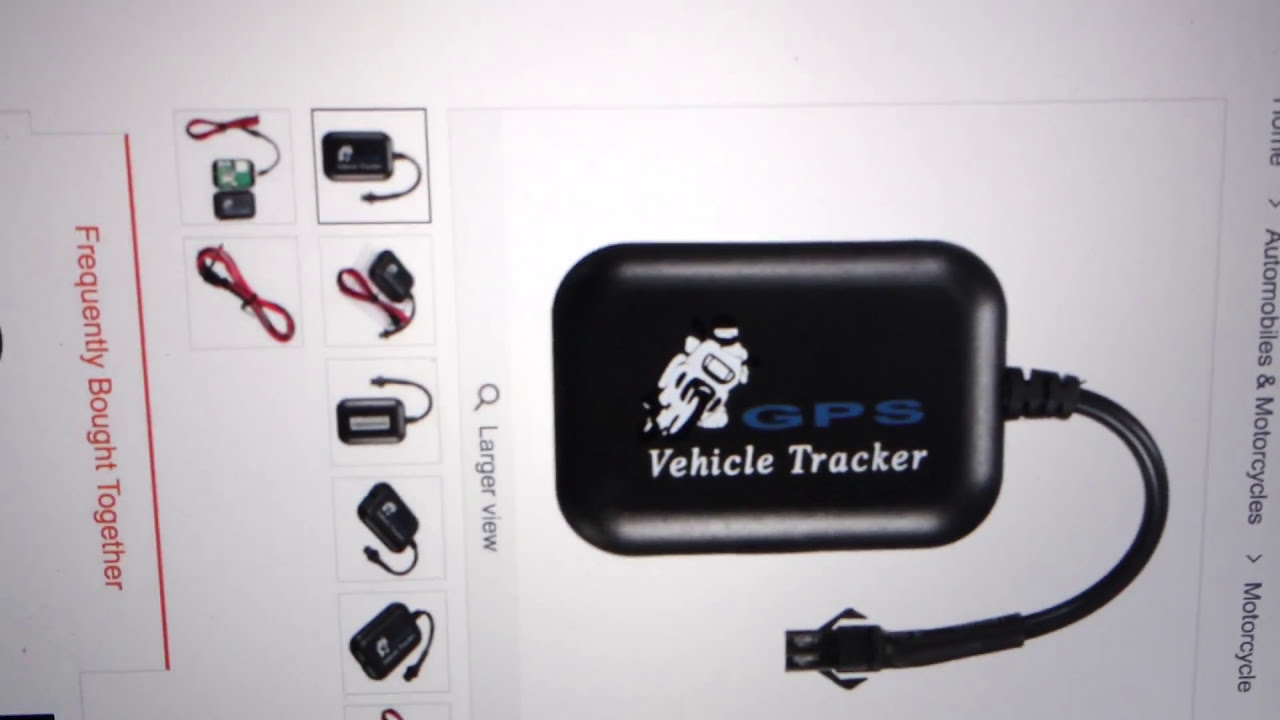 Fake Mini Motorcycle Car Vehicle Gps/Gsm/Gprs Real Time Tracker Tracking  Device Tool  Rienk Jan Schurer 01:23 HD