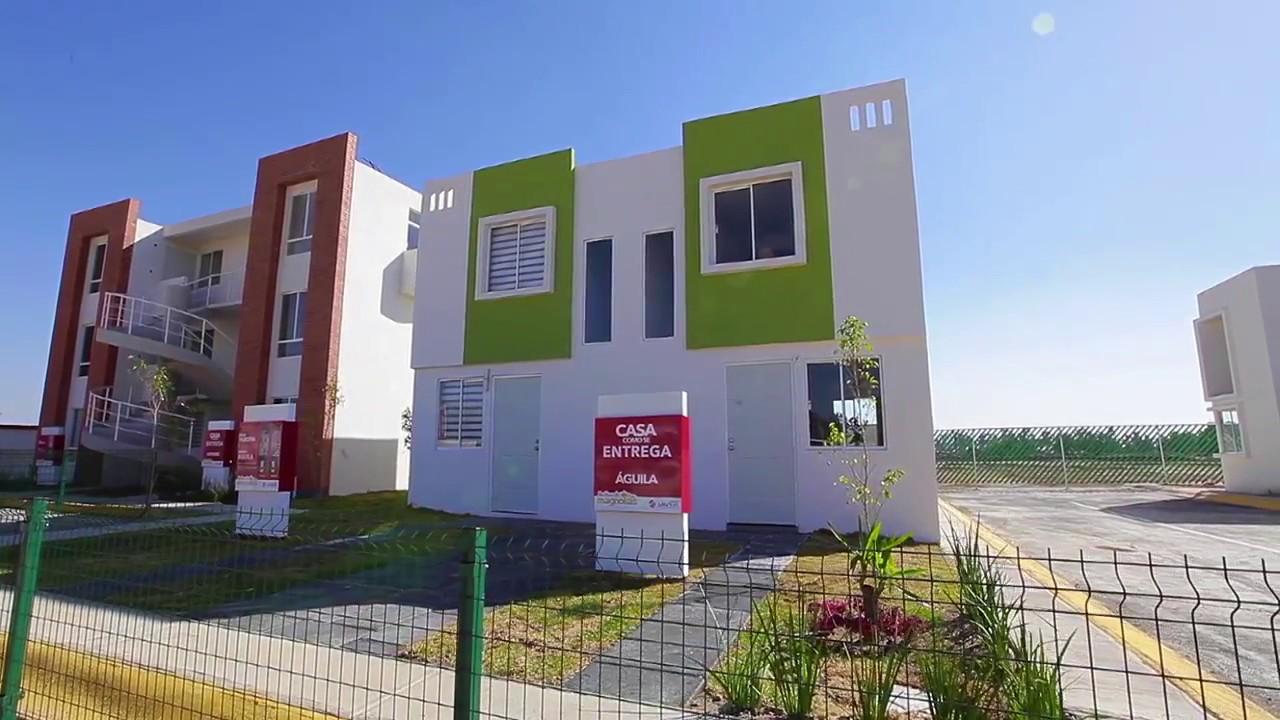 Jardines de magnolias modelo guila casas javer en for Modelos de casas en mexico