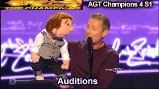 Paul Zerdin Ventriloquist Beat Boxes  Audition | America
