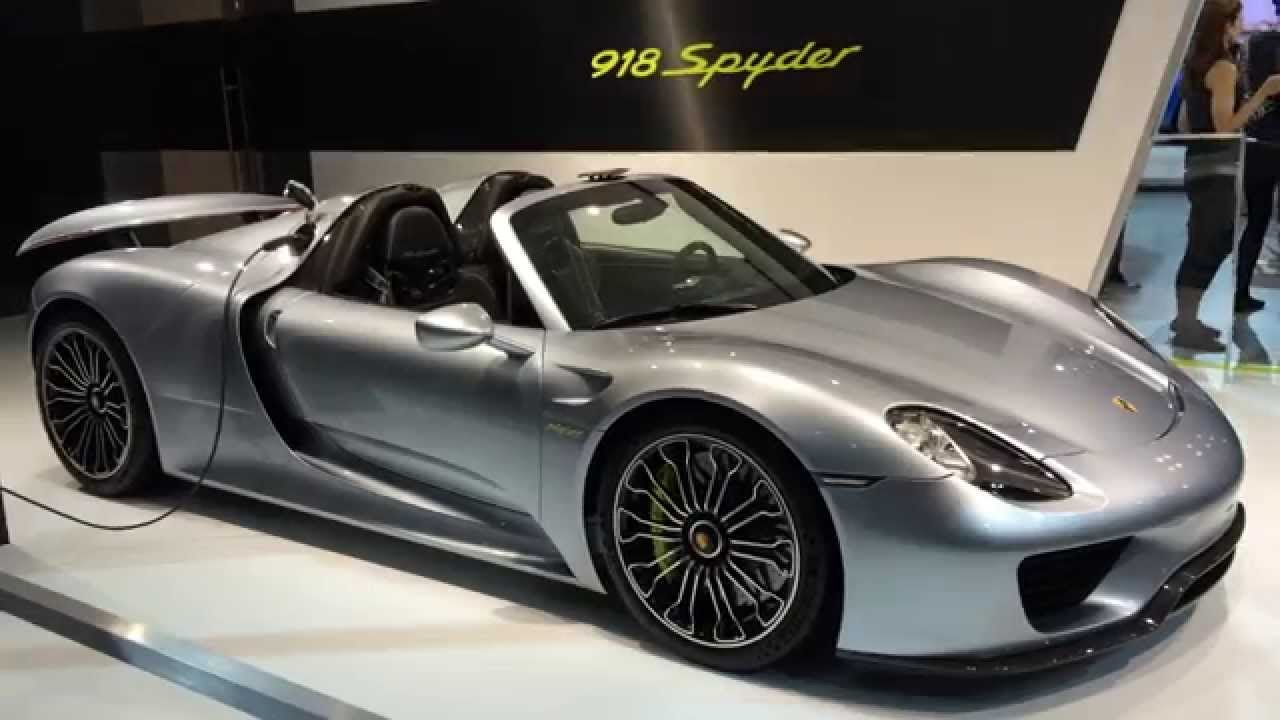 porsche 918 spyder 2014 new york auto show youtube. Black Bedroom Furniture Sets. Home Design Ideas