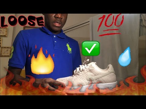 NEW YEARS SPECIAL : HOW TO CLEAN/ LACE AIR FORCE 1'S 🔥(Loose)  ☔️✅(2 Best Ways)
