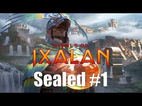 Rivals of Ixalan Sealed #1:  Preview League!