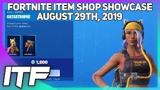 Fortnite Item Shop *NEW* CATASTROPHE SKIN SET! [August 29th, 2019] (Fortnite Battle Royale)