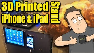 3D Printing Custom iPhone & iPad Wall Mounts - Get Organized