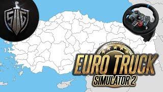 İstanbuldan Sakaryaya Yolculuk  I  Euro Truck Simu