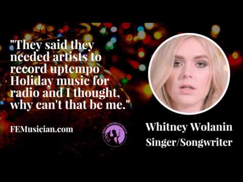 FEM67 How Holiday Music & A Strong Work Ethic Changed The Game for Whitney Wolanin