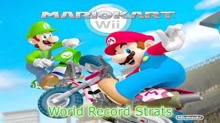 Mario Kart Wii - All World Record Shortcuts and Strats