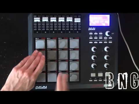 Akai MPD 26 HipHop Beat!!!