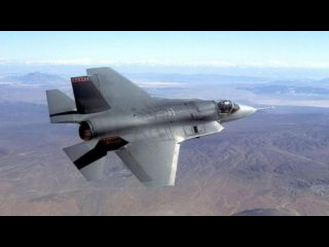 Inside the technologically advanced F-35 fighter jet