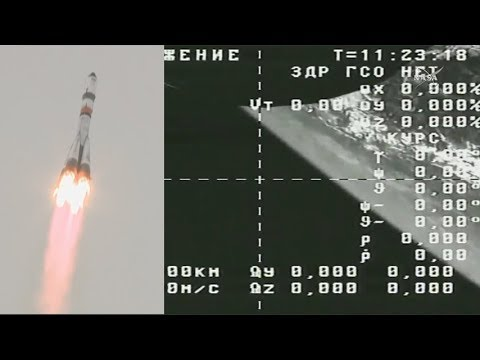 Progress MS-08 launched by Soyuz-2.1a