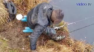 Жесть рыбалка Пьяные рыбаки на рыбалке Рыбалка приколы fishing
