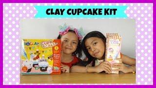 Mainan Anak ♥ Clay Cupcake Kit