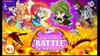 Winx Club Bloomix Battle Games to Play Online for Girls World of Winx Part 1