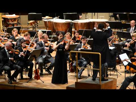 Hilary Hahn playing Sibelius with the Vienna Philharmonic Orchestra live @ Wiener Konzerthaus