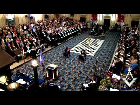 Freemason Ritual Video - The AIF Memorial Lodge