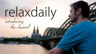 relaxdaily YouTube channel trailer thumbnail