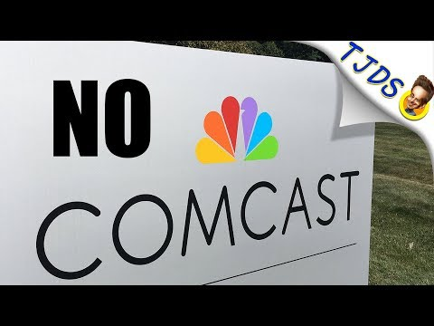 City Rejects Comcast! Builds Municipal Fiber Instead