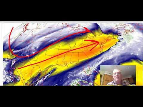 Weather In 5 Northeast Rains End, Next Storm Thursday, Winter Storm Rockies