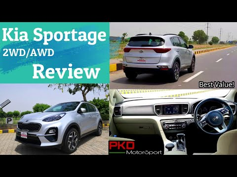Kia Sportage 2020 Detailed Review | 2WD & AWD | Price, Specs & Features |