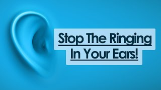 3 Simple Tips To Stop Ringing In Ears!