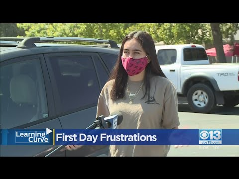 First Day Frustrations: Elk Grove Unified School District Back In Session