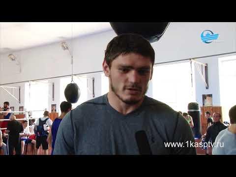 В Каспийске проходят тренировочные сборы к Чемпионату России по боксу в Грозном