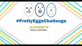 Drawing Creative and Funny EGGS #prettyeggschallenge 2019