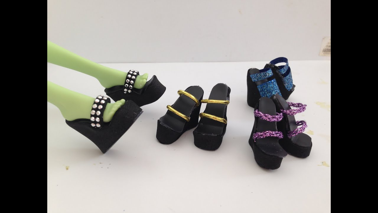 7d8dd300cd4bd How to make Doll Shoes 4