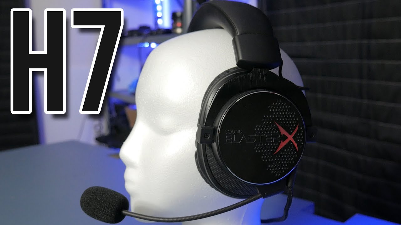DAT VOICE CHANGER THO - Creative Sound BlasterX H7 Headset Review